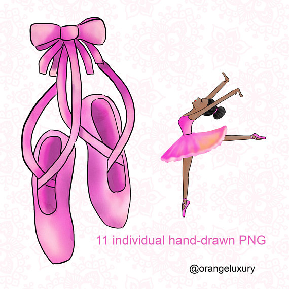 Instant download pink this. Ballerina clipart ballet dancer