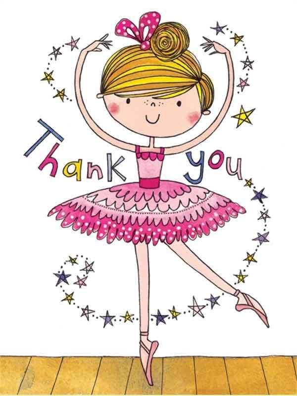 Ballet clipart ballet teacher. Ballerina thank you cards