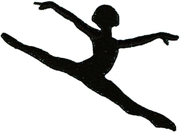 Gymnast clipart leap. Dance kid pinterest leaps