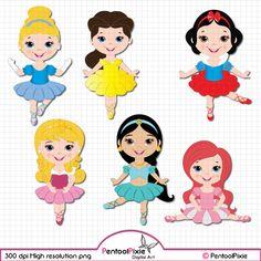 Ballet clipart princess. Little ballerina dance
