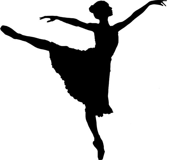 Ballet clipart silhouette. Free cliparts download clip