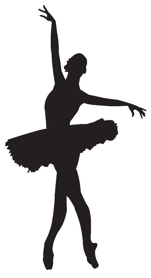 Ballet clipart silhouette. Ballerina