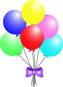 Clip art of images. Balloons clipart