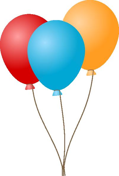 Balloon notes on a. Ballon clipart