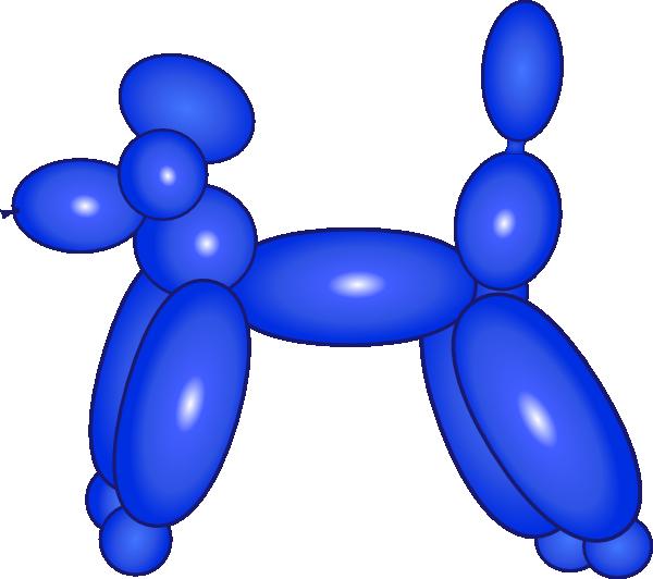 Dog blue clip art. Clipart balloon basketball