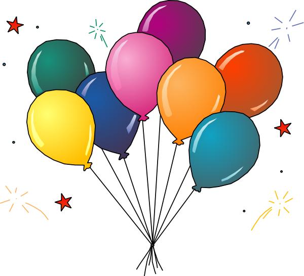 Balloons . Balloon clipart party balloon