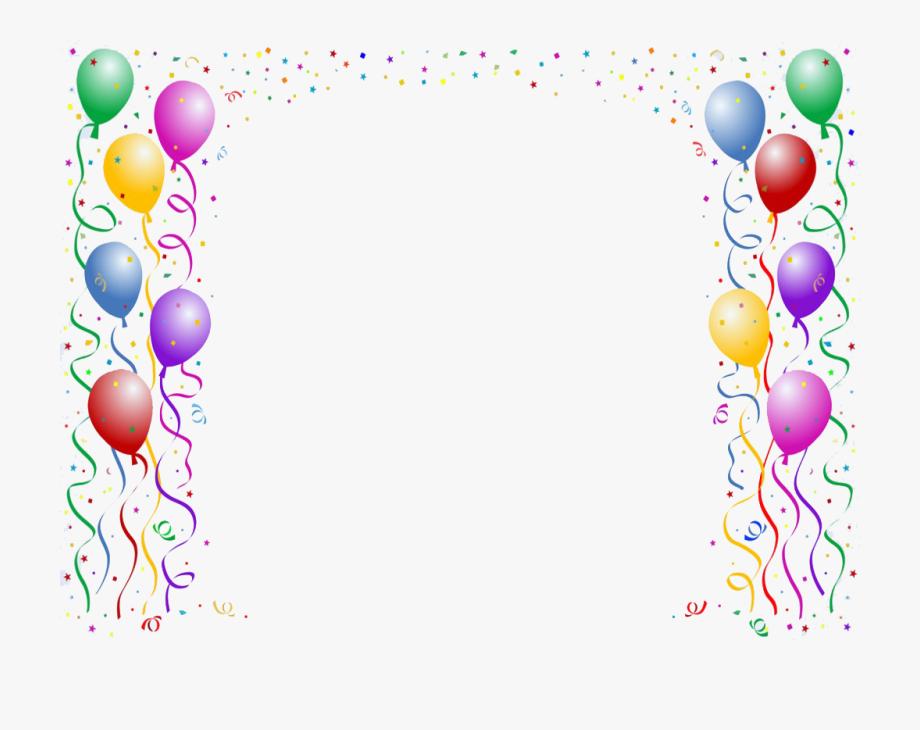 Clip art border buon. Balloon clipart borders