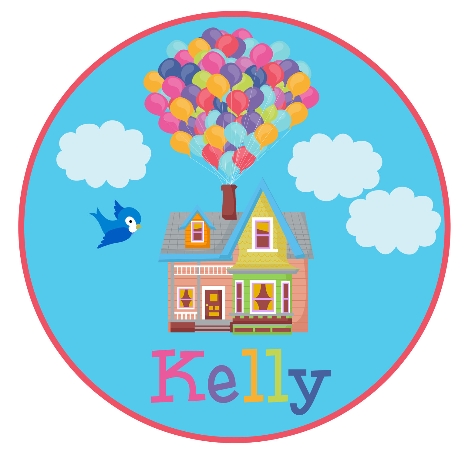 Up house drawing at. Balloon clipart classy