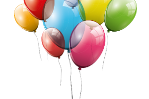 Balloons transparent station related. Balloon clipart clear background