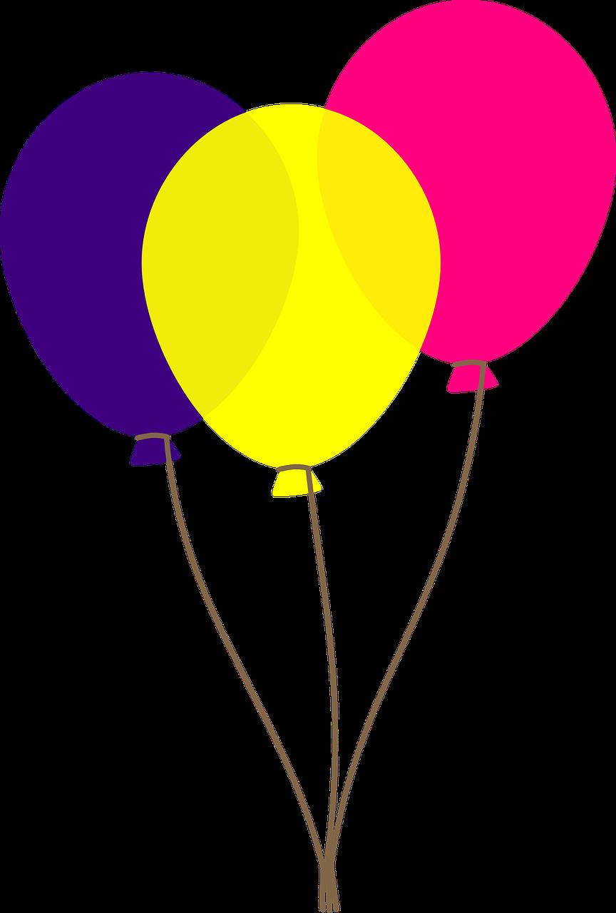 Colorful balloons clip art. Clipart balloon