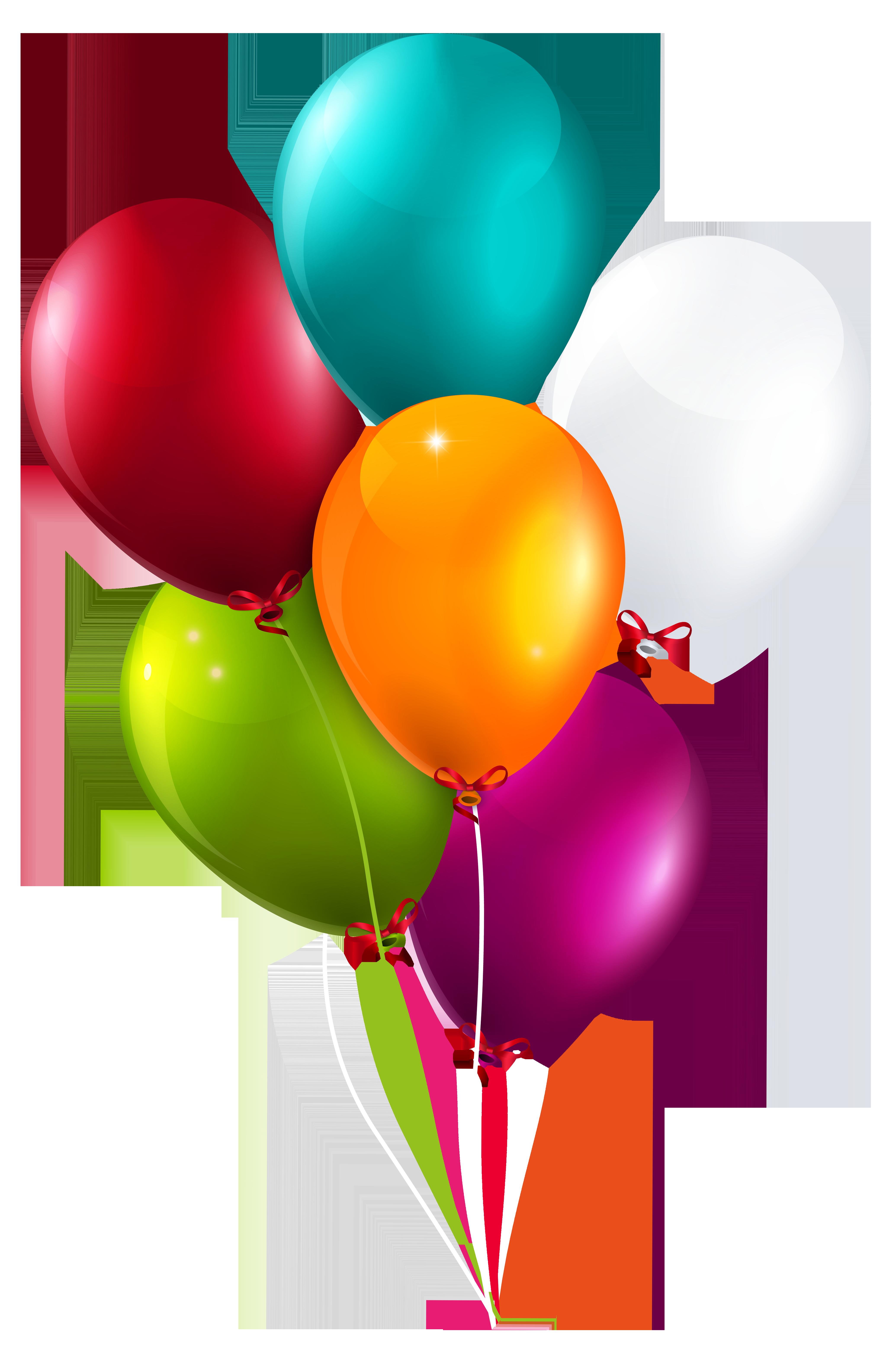Colorful balloons bunch large. Pop clipart cartoon balloon