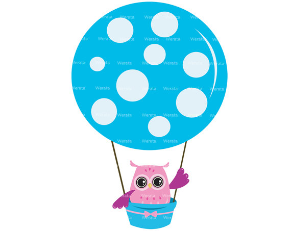 Balloon clipart clip art. Cute hot air station