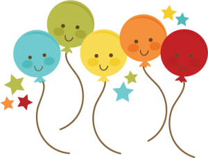 Balloon clipart cute. Balloons svg file for