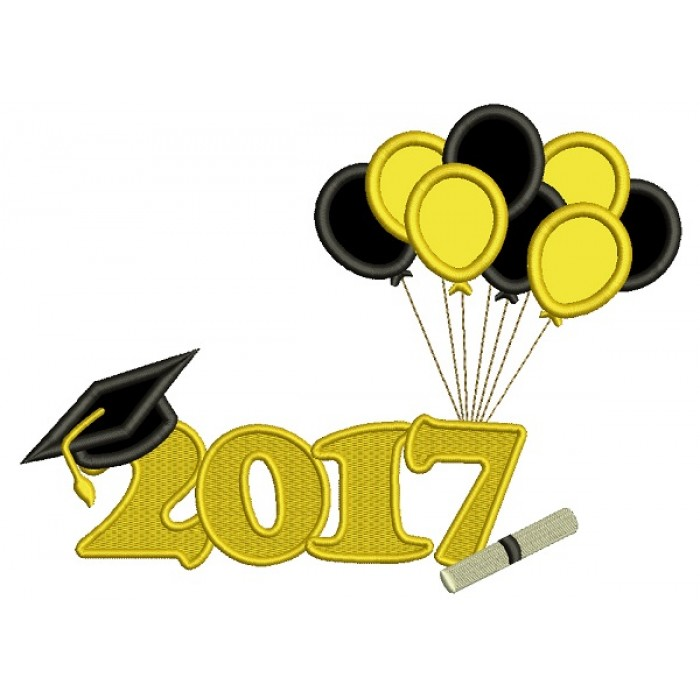 Balloons clipart graduation.  school diploma with