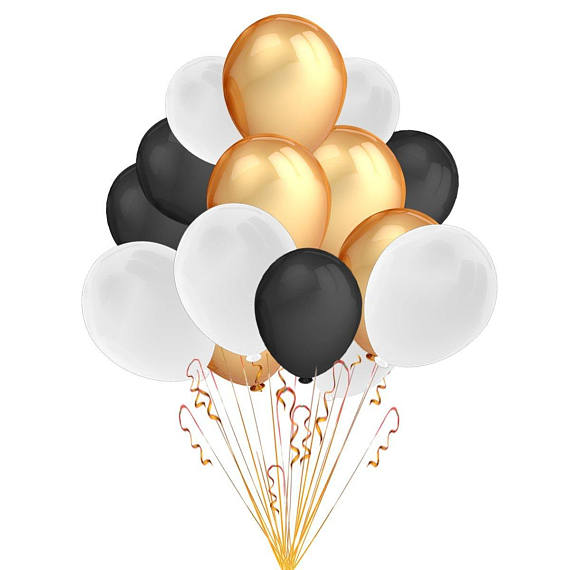 Event balloons black white. Balloon clipart graduation