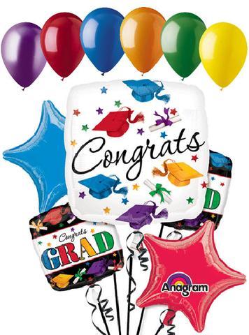 Dare to dream colorful. Balloons clipart graduation