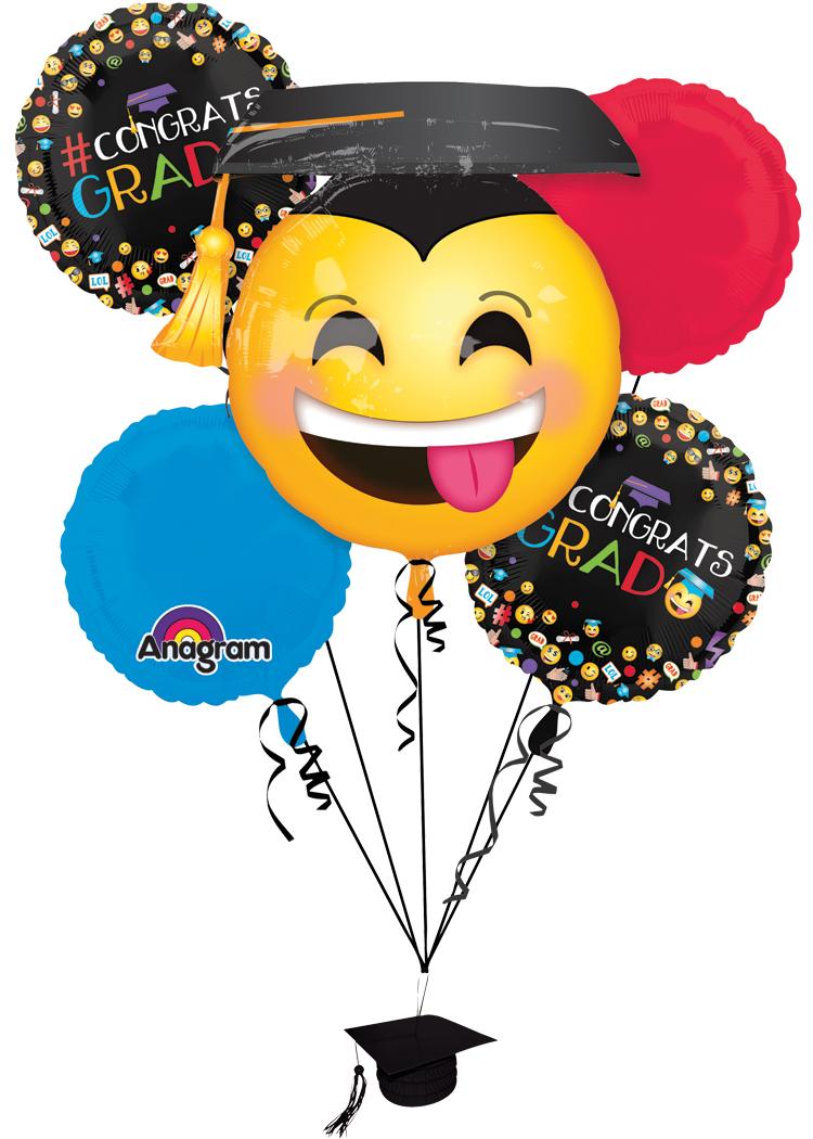 Anagram awesome grad congrats. Balloons clipart graduation