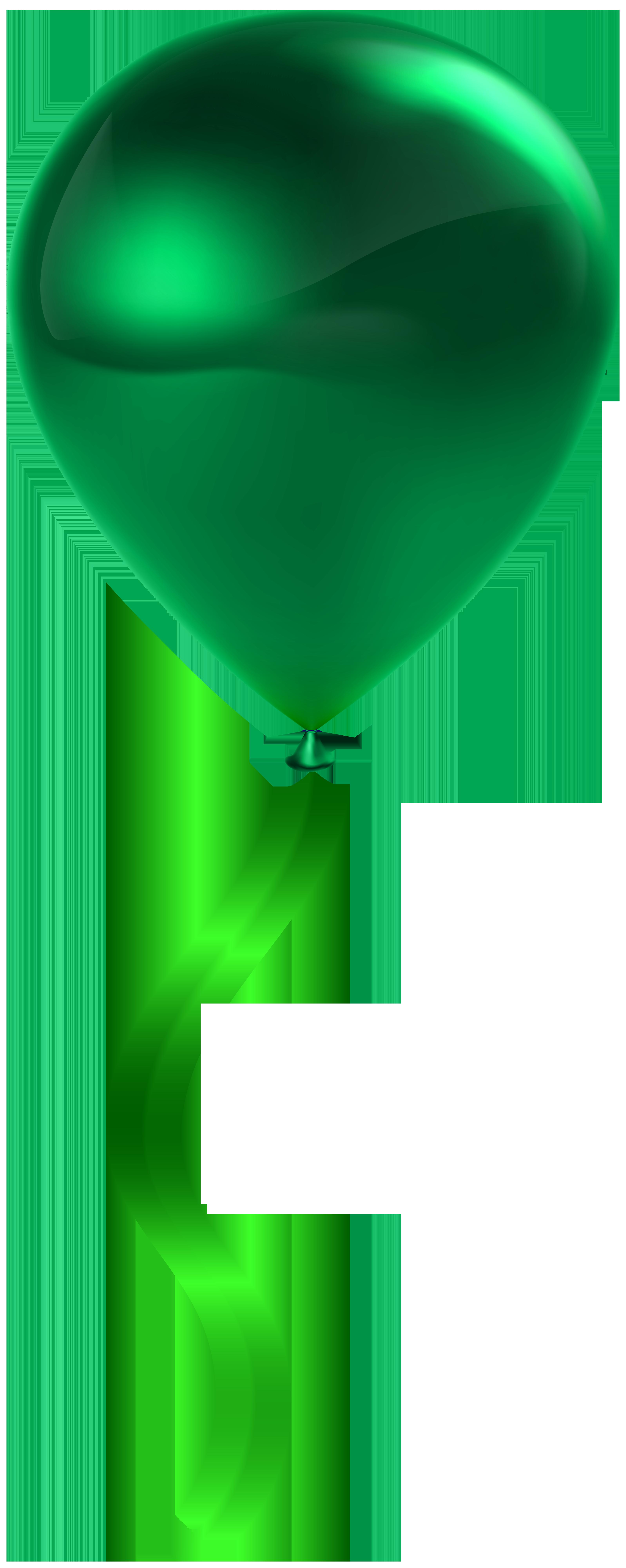 Single transparent clip art. Clipart balloon dark green