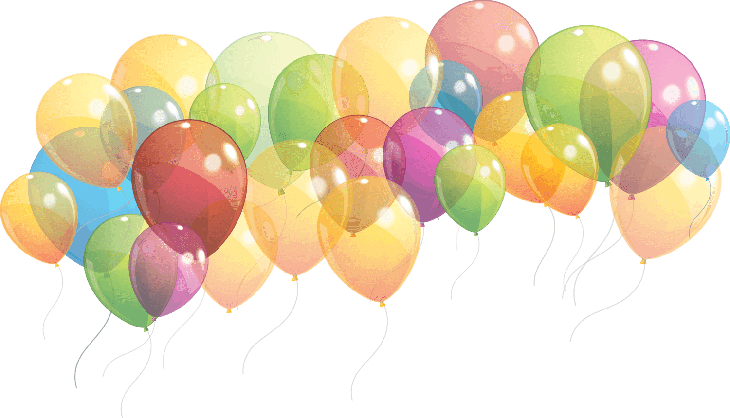 Clipart balloon clear background. Group of balloons taking