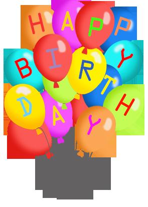 Balloon clipart happy birthday. Balloons free clipartfest