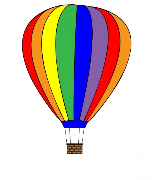 Gas clipart air ballon. Hot balloon free stock