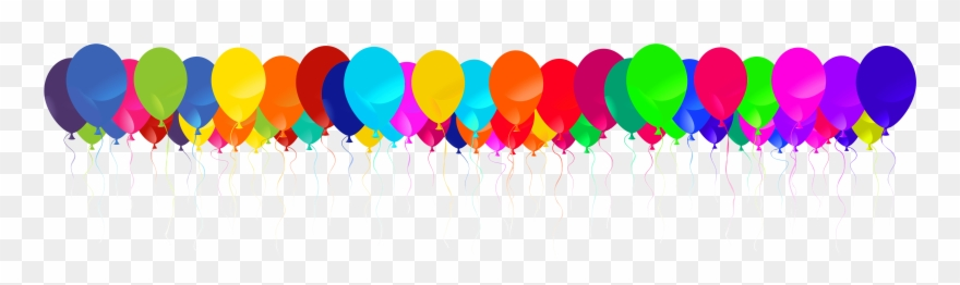Clipart balloon line. Of balloons png pinclipart