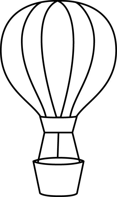 Balloon clipart line. Hot air term goals
