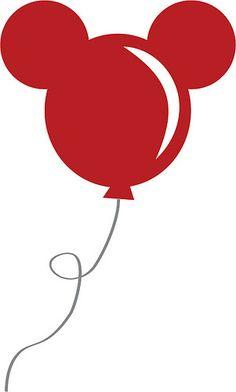 Ballon clipart mickey mouse. Balloon template cute for