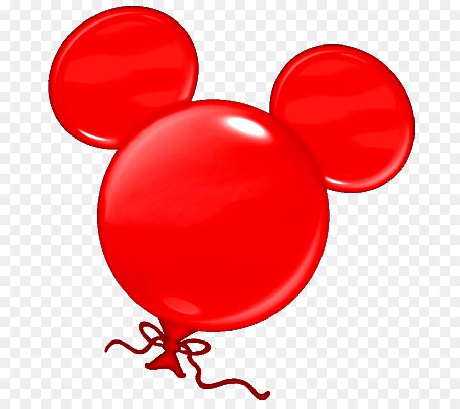Minnie balloon clip art. Ballon clipart mickey mouse