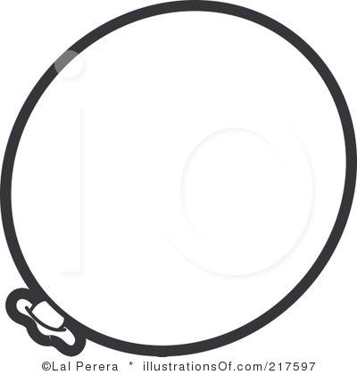 Balloon clipart outline. Clip art panda free