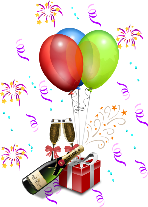 Free graphics of colorful. Clipart balloon animation