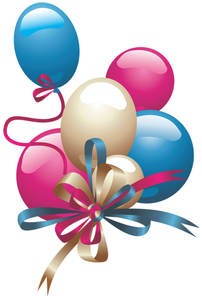 Ballon clipart presents. Balloons png up and