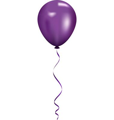 Image birthday balloons clip. Ballon clipart purple