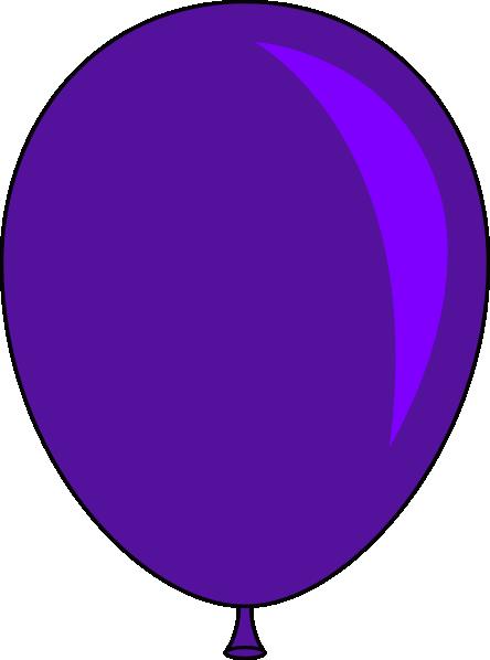 Free balloons cliparts download. Ballon clipart purple