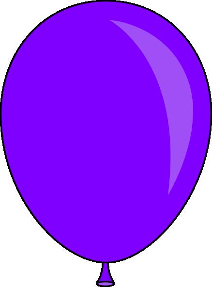 Balloon panda free images. Ballon clipart purple