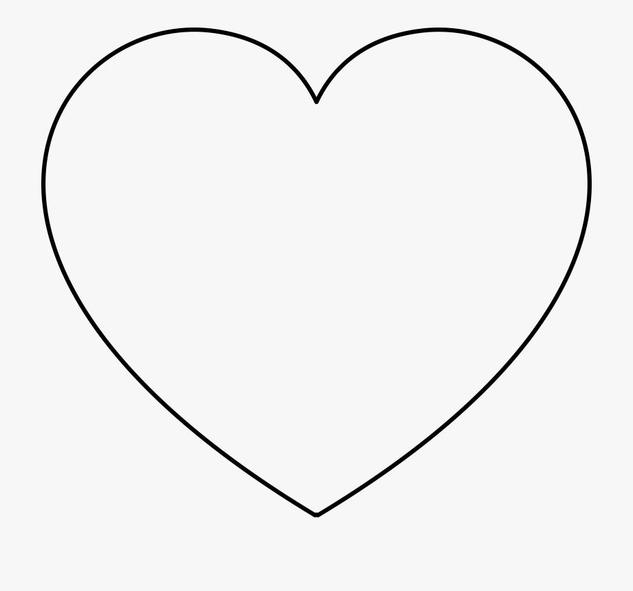 Template heart clip art. Clipart balloon shape