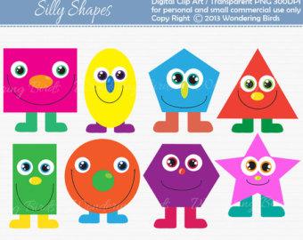 Emoji faces feelings geometric. Ballon clipart shape