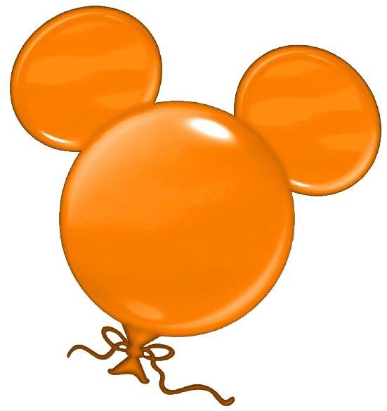 Ballon clipart shape.  best disney heads