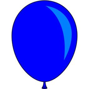 Station . Balloon clipart single