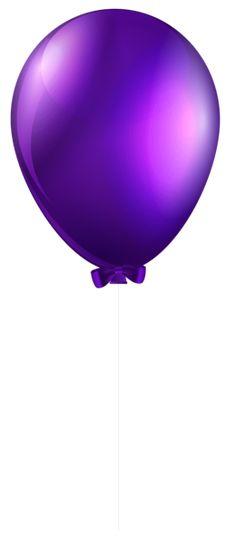Balloons clipart single. Transparent purple balon konsept