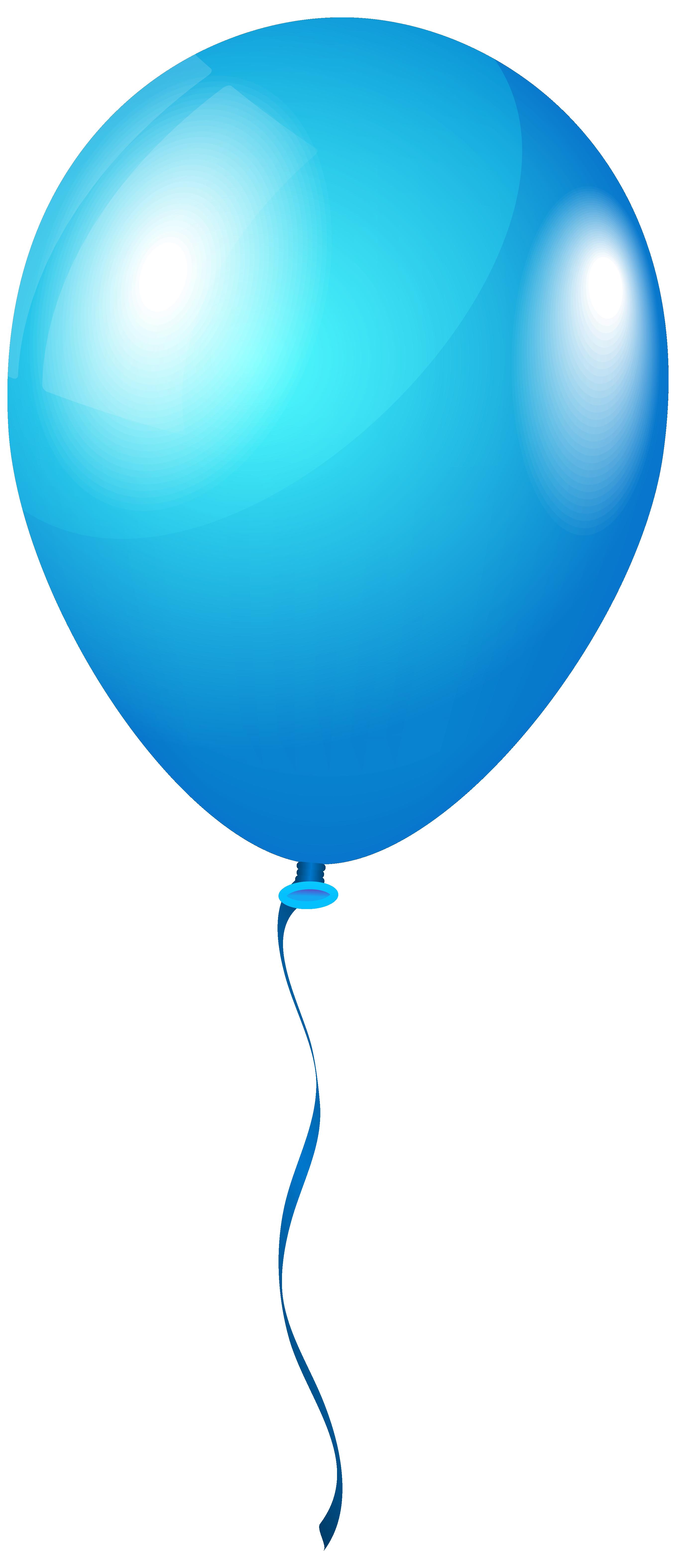 Clipart balloon teal. Single blueballoon png image