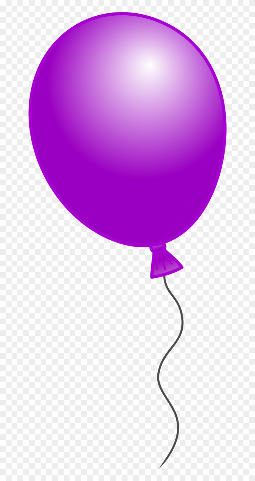 Balloon clipart single. Number png