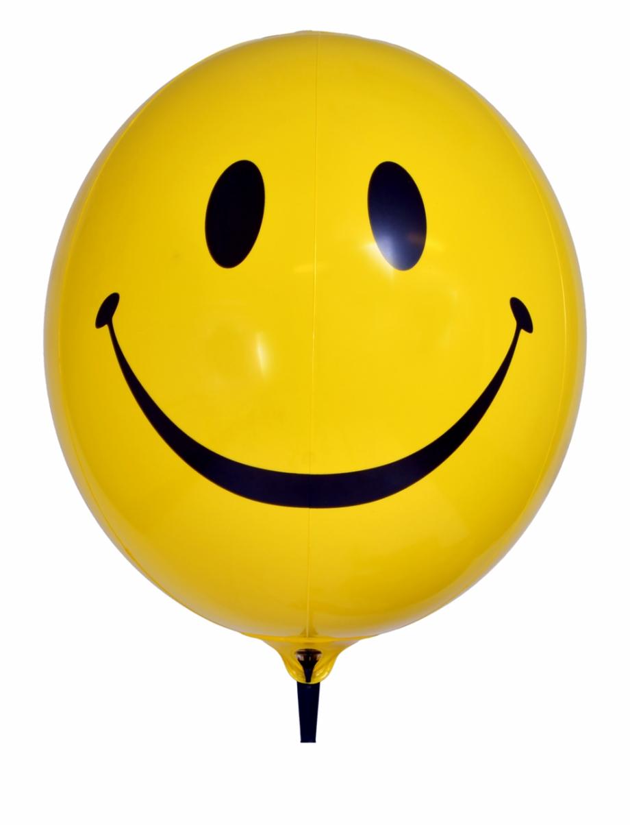 Yellow balloon free png. Ballon clipart smiley face