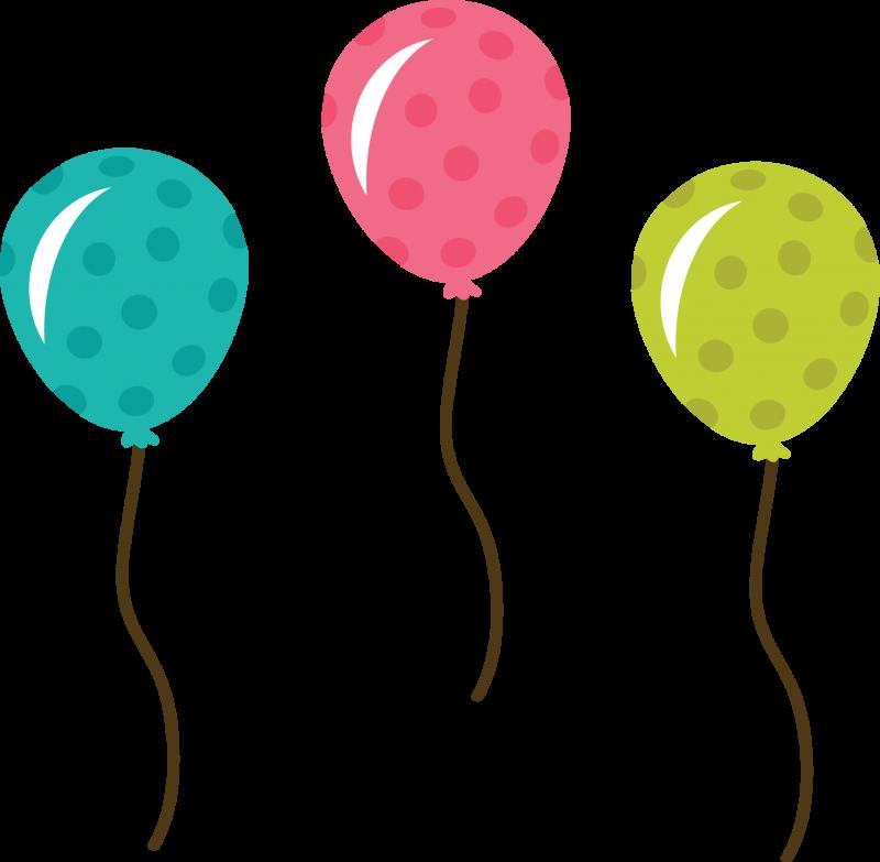 Balloons clipart template. Birthday free scrapbook help