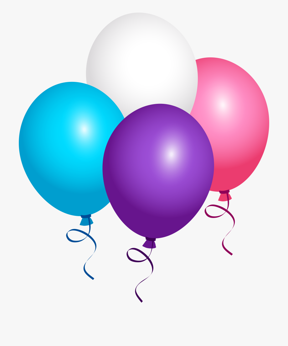 Balloon clipart transparent background. Flying png