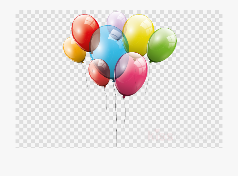 Party balloons . Balloon clipart transparent background