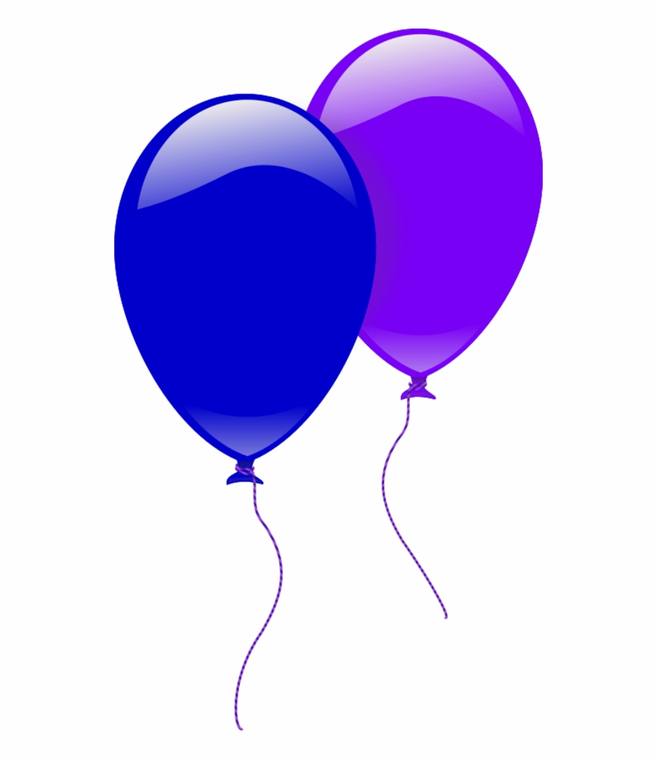 Clipart balloon magenta. Two balloons free png