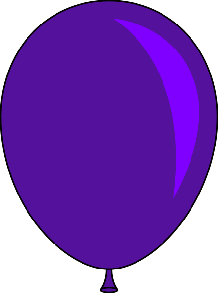 Blue clip art panda. Balloon clipart vector