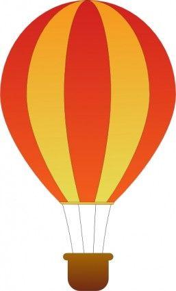 Balloon clipart vector. Free clip art air