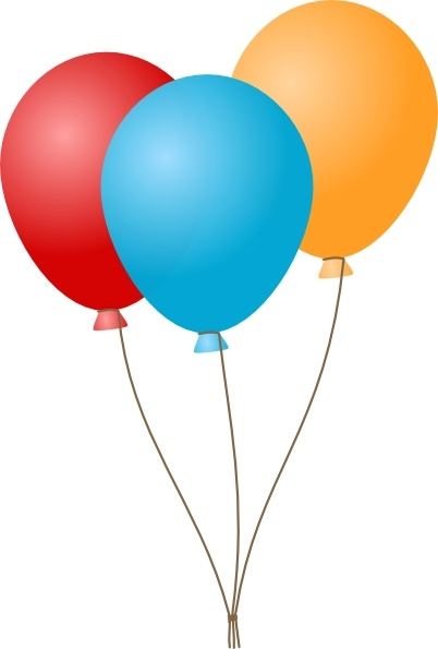 Balloon clipart design. Balloons clip art free